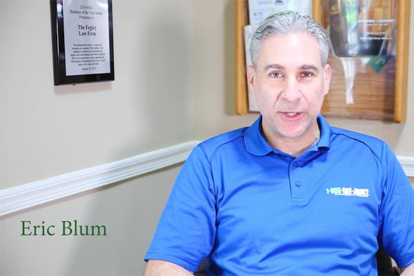 Eric Blum Testimonial